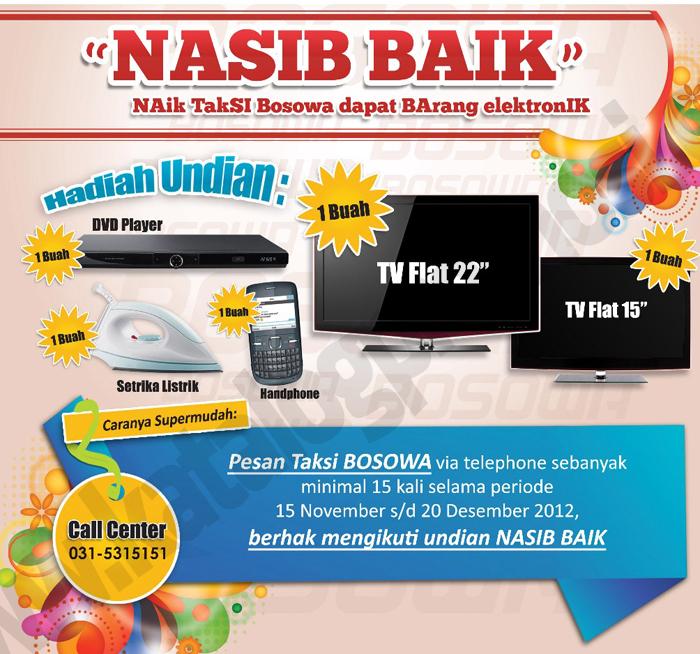 Naik Taksi Bosowa Dapat Barang Elektronik Discount And Promo Hunter