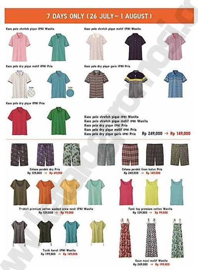 UNIQLO 7 DAYS ONLY RAMADHAN SPECIAL OFFER | Discount and
