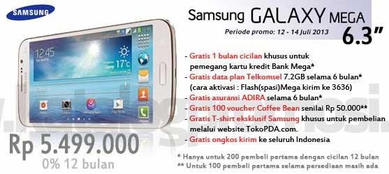 TokoPDA Spesial Promo Cicilan 0 12 Bulan Untuk Samsung Galax Y