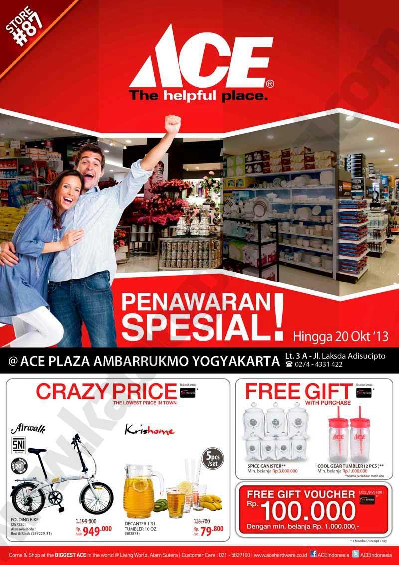 Ace Hardware Plaza Ambarukmo Opening Promo Discount And Promo Hunter